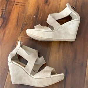 Cordani Open Toe Wedge Platform Shoe Sandals